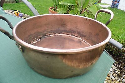 antique Victorian Jam Pan Copper Preserving  Country House 19th century