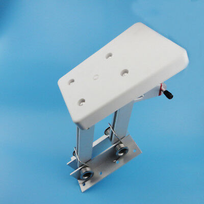 White Motor Bracket Duty Aluminum Outboard2 Stroke Kicker 7.5hp-20hp Practical
