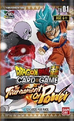 Dragon Ball Super TCG The Tournament of Power Booster Box - 24 packs of 12 Cards