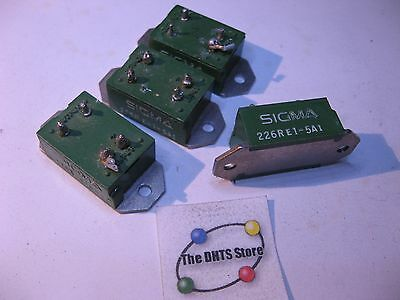 Sigma 226RE1-5A1 Solid State Relay 5V SPST TRIAC - Used Pulls Qty 4