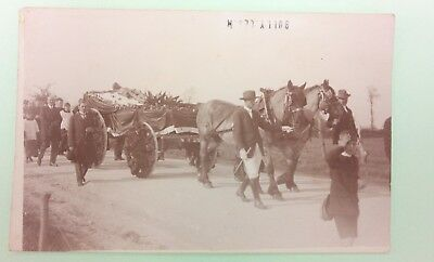 CPA carte postale ancienne BULLY LES MINES calvaire