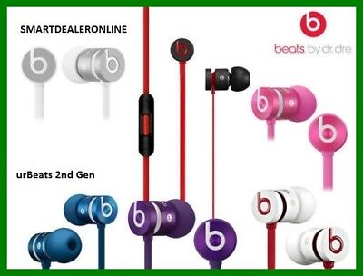 Genuine Beats by Dr. Dre urBeats Second Generation In Ear Headphones 13 Colours