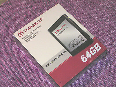 TS64GPSD320, 2,5Zoll, PATA SSD,Transcend 64GB, TS64GPSD330. In OVP.
