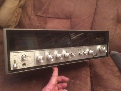 Sony Str-6036 Top Vintage Lovely Stereo Receiver