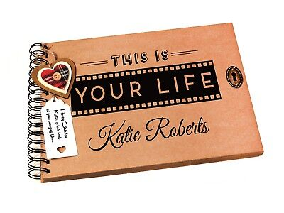 A4/A5 This is Your Life, Photo Album, Guest Book, Scrapbook, Birthday Gift Idea