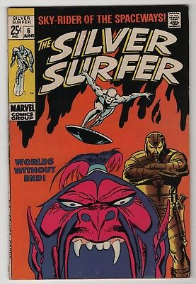 Silver Surfer #6 solid 1969 Marvel giant Buscema Brunner create-a-lot & save