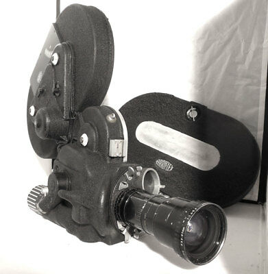 ARRIFLEX 16S with 2 X 400ft. Mags. New Wrinkle Finish Paint.Fast 12-120mm-1:2.2