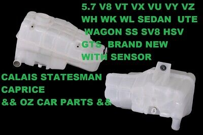Genuine Vt Vx Vy Vu Wh Wk V8 5.7 Radiator Overflow Coolant Reservoir Bottle New
