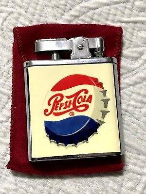 Vintage Pepsi Cola Lighter With Music Box - Brand New Condition