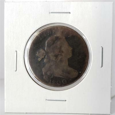 1800 Draped Bust Large Cent - Good / About Good - Nice Coin -