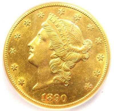 1890-CC Liberty Gold Double Eagle $20 Coin - ICG MS61 (UNC BU) - $16,450 Value!