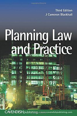 Planning Law and Practice by Blackhall, Cameron Paperback Book The Cheap Fast