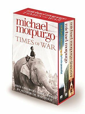 Times of War Collection by Morpurgo, Michael Book The Cheap Fast Free Post
