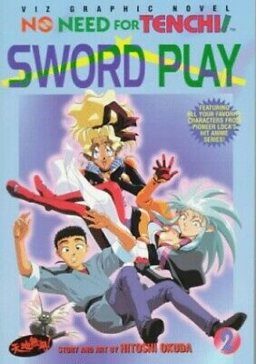 No Need for Tenchi: Sword Play 2 by Okuda, Hitoshi Paperback Book The Cheap Fast