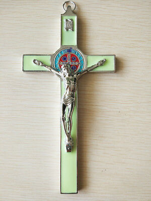 Christ Cross Crucifix Holy JESUS Catholic Statue Hanging Religious Saint Decor