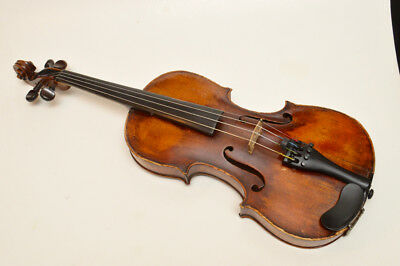 Antique Full size Violin Made In Czechoslovakia