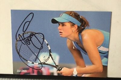 TOP :  Original  Autogramm  JULIA  GÖRGES  -  Tennis