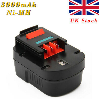 For Black&Decker Battery A12 CP122K FSB12 A1712 HP122K FS120B 12V 3.0AH Ni-MH