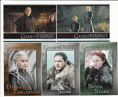 Game of Thrones Season 7 Base Set (81 Cards)