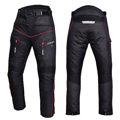 Mens Motorbike, Motorcycle Trouser's. Cordura textile, CE approved armour,