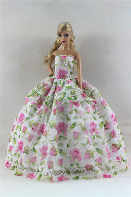 Fashion Princess Party Dress/Evening Clothes/Gown For Barbie Doll S351