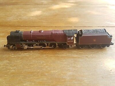 Graham Farish 372-178 Duchess of Hamilton N Gauge steam locomotive BR