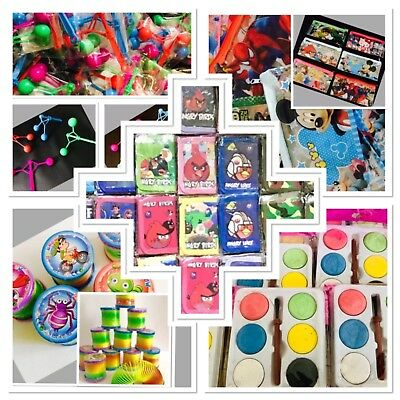 Wholesale Toys Wallets Stationary Kids Paints Mini Clackers Job Lot 60 Items
