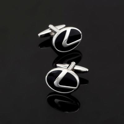W2120...cufflinks - Lexus Car Badge - Gift Bag - Free Uk P&p