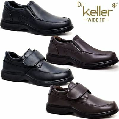 Mens Faux Leather Wide Fit Walking Light Weight Driving Smart Formal Shoes Size