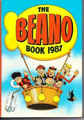 The Beano Book / Annual 1987. GOOD CONDITION - Not Price Clipped