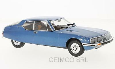 Citroen Sm Blu Met. 1970 WhiteBox 1:24 WB124025