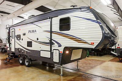 2018 Palomino Puma 253FBS Rear Living Room Used 5th Fifth Wheel For Sale Cheap