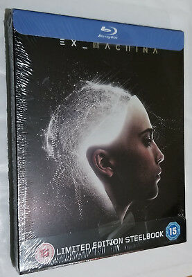 Ex-Machina - Limited Edition - Steelbook - Blu-ray - NEW & SEALED