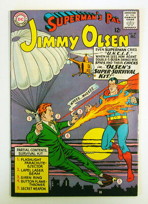 Superman's Pal Jimmy Olsen #89 1965 Silver Age DC Swan -c/art Schaffenberger -a