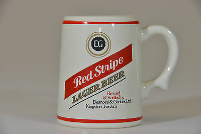 Franklin Porcelain Official Tankards of World's Great Breweries Mug - Red Stripe