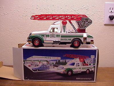Vintage Hess Oil Co. Rescue Truck W/original Box ~ 1994 ~ Very Collctible