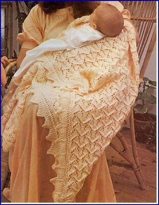 Baby Knitting Patterns Copy Gorgeous LACY Shawls 4 ply