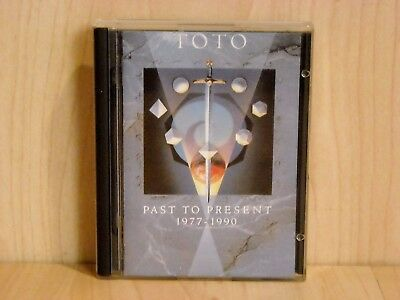 Original MiniDisc Album * Toto - Past To Present  1977 - 1990 * VERY RARE !