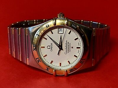 OMEGA Constellation Chronometer Automatic 38mm Stahl/Gold Herren Armbanduhr