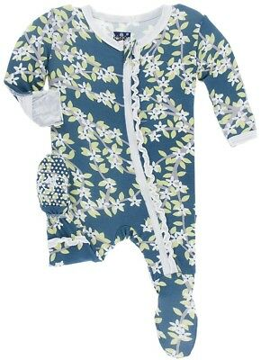 Kickee Pants (12-18 Months)Zippered Footie
