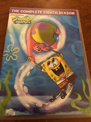 SpongeBob SquarePants: The Complete Eighth Season (DVD, 2013, 4-Disc Set)