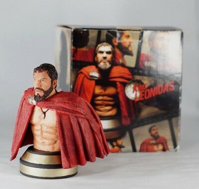 300 the Movie Bust King Leonidas Rare with box! SPARTA spartans collectable gift