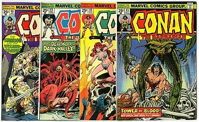 Conan the Barbarian #43 - 50  Complete Run  avg. VF/NM 9.0  Marvel 1974  No Resv