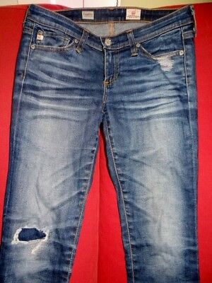 A.G. Adriano Goldschmied LEGGING SUPER SKINNY 11Y REP distressed jeans-25 (1/2)