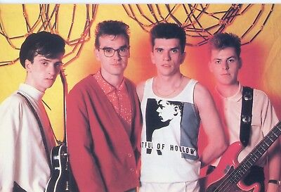 Postcard / Carte Postale / The Smiths Group Ii