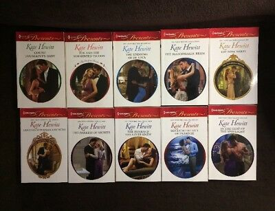 10 Harlequin Presents Romance Novels by KATE HEWITT 2010-2013 SEE MY OFFER!