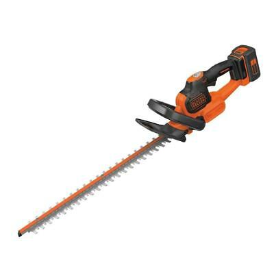 Hedge Trimmer Anti-Jam 55cm Blade BLACK+DECKER 36V Lithium-Ion With 2 Ah Battery
