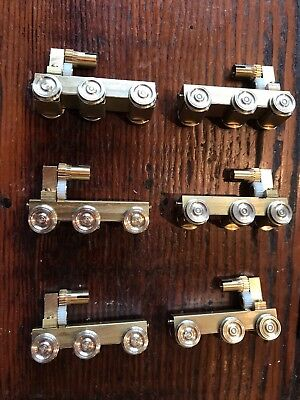 Classic brass 81 class power bogies with parts and Mashima motors