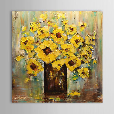 CHENPAT239 modern abstract flower hand-painted oil painting wall art on canvas