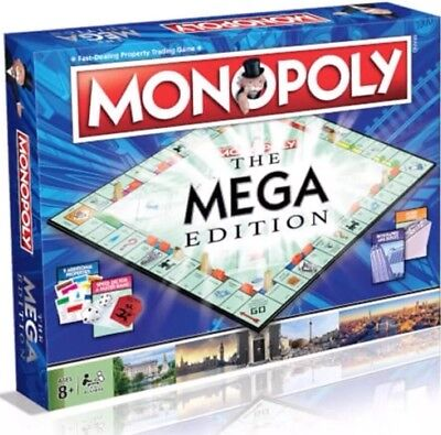 Monopoly - The Mega Edition **ON SALE Reduced Price**
